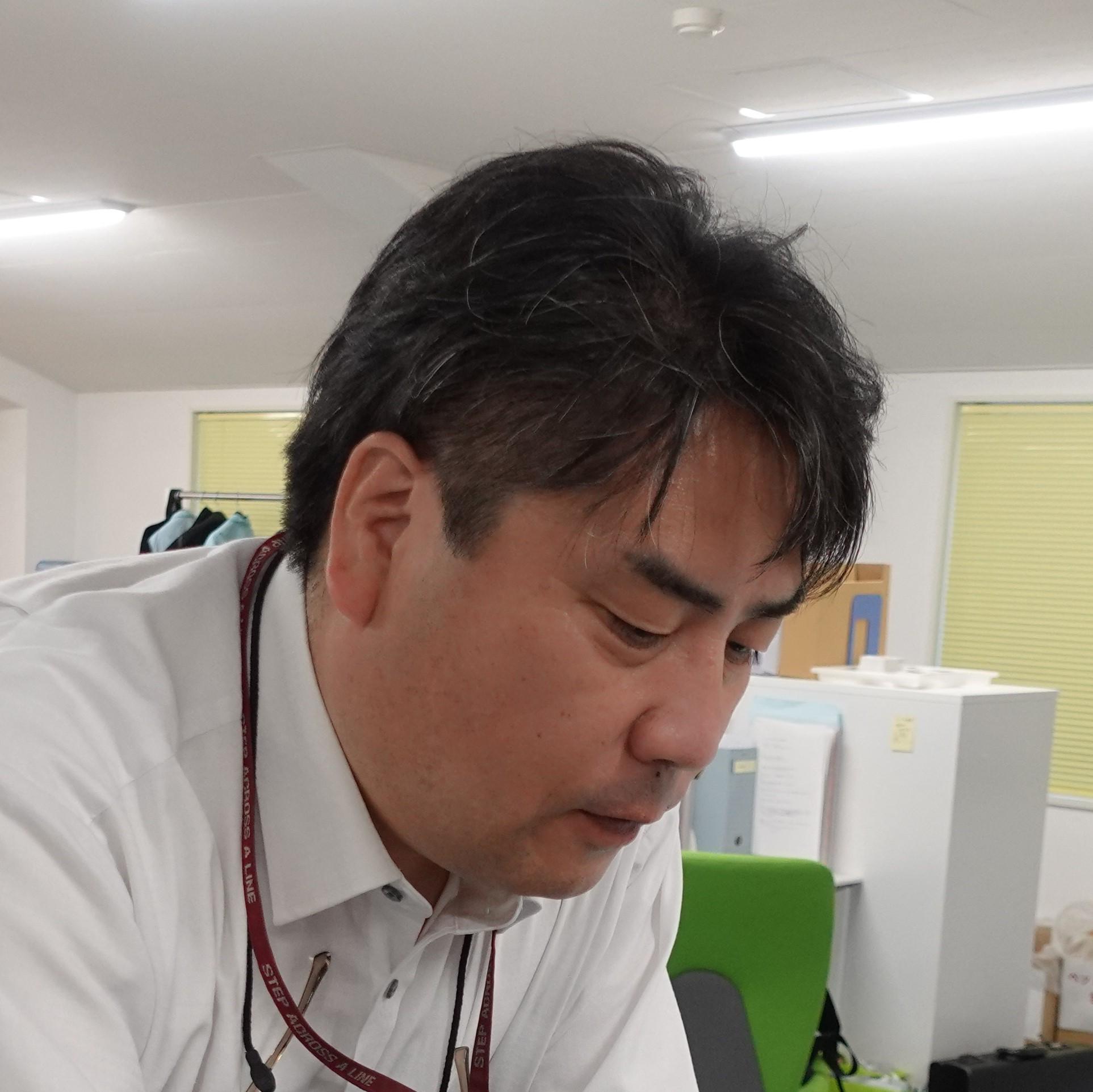 営業本部長 ナオタケさん