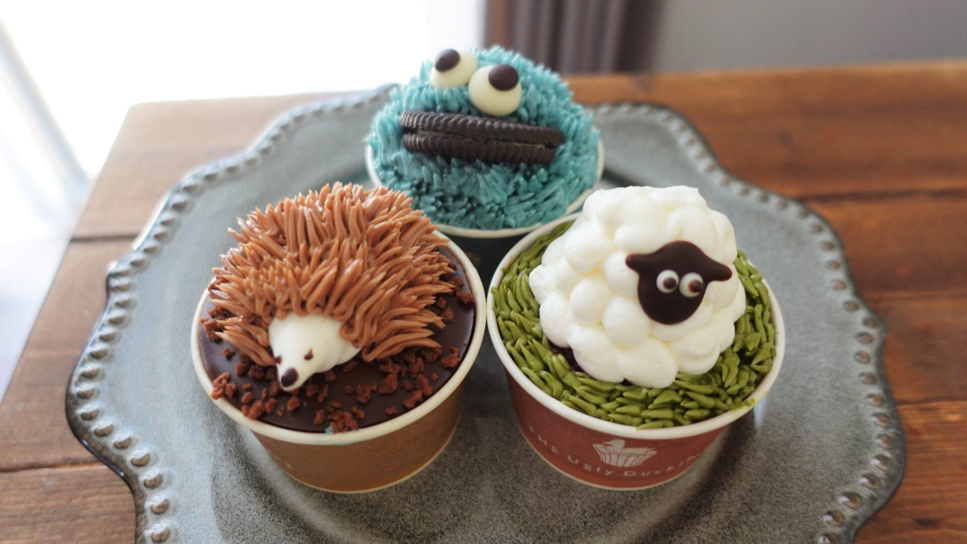 新潟市中央区ビルボードプレイス内に新しくOPENしたカップケーキ専門店「THE Ugly Duckling」に行ってきた!